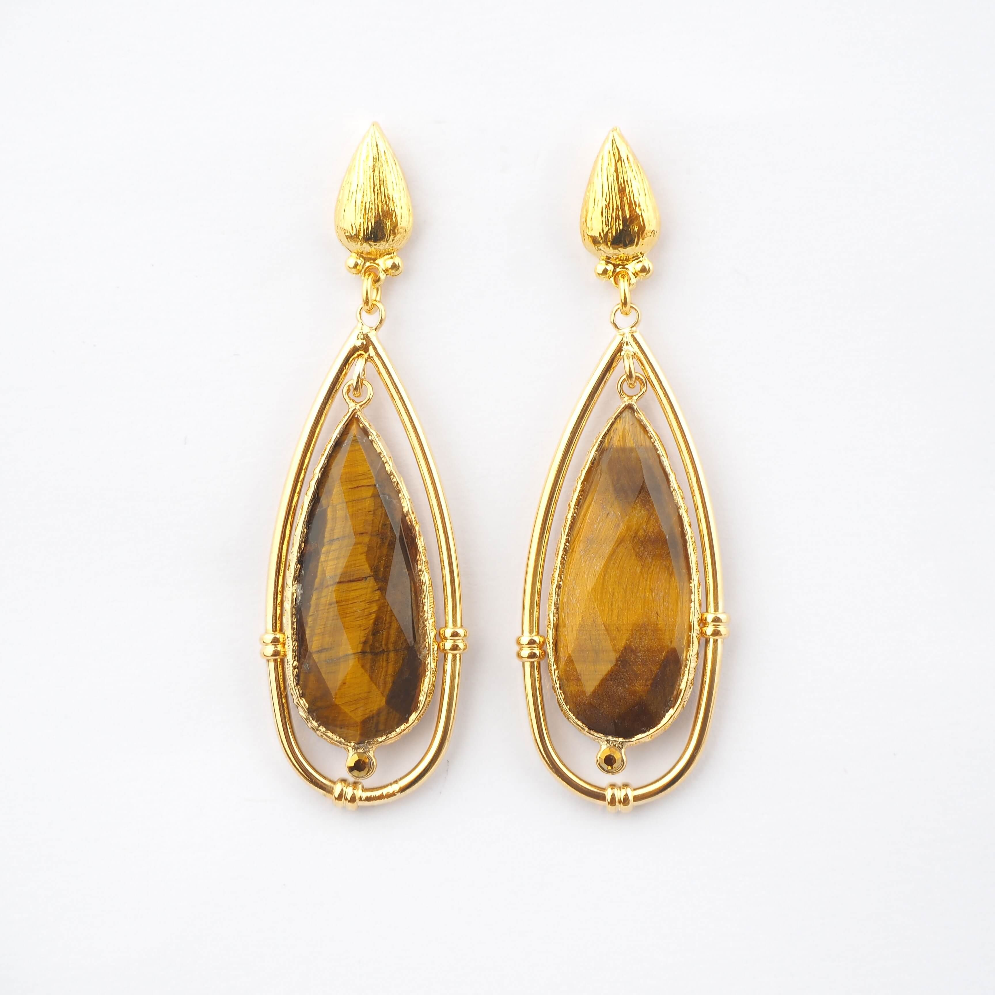 Boucles d'oreilles Serti cage PM - Gas bijoux