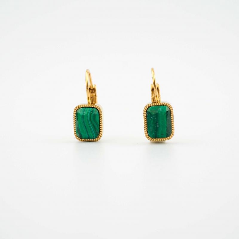 Lana green earrings - Zag...