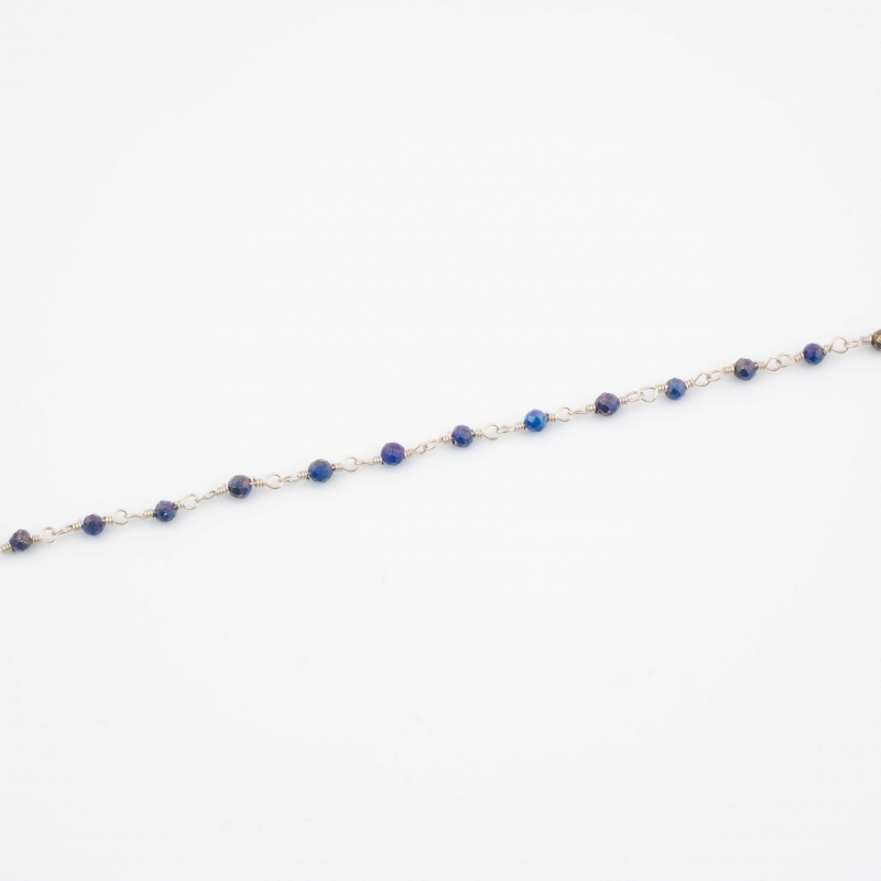 Gigi blue silver bracelet -...