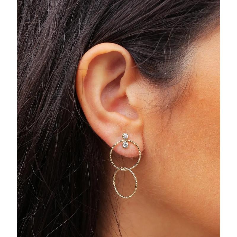 Boucles d'oreilles Eolia en...