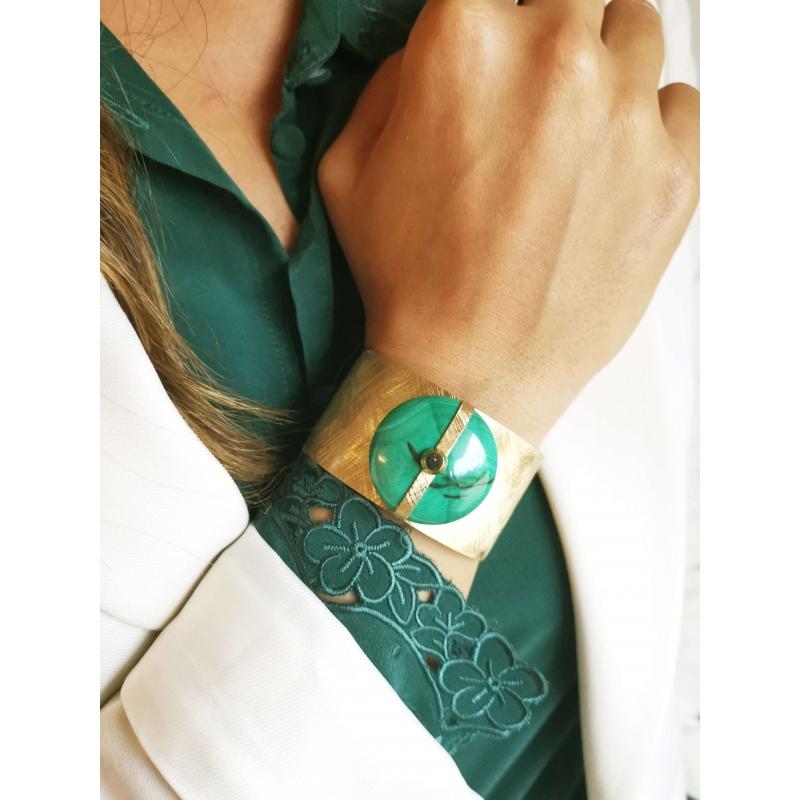 Bracelet manchette Parisse...