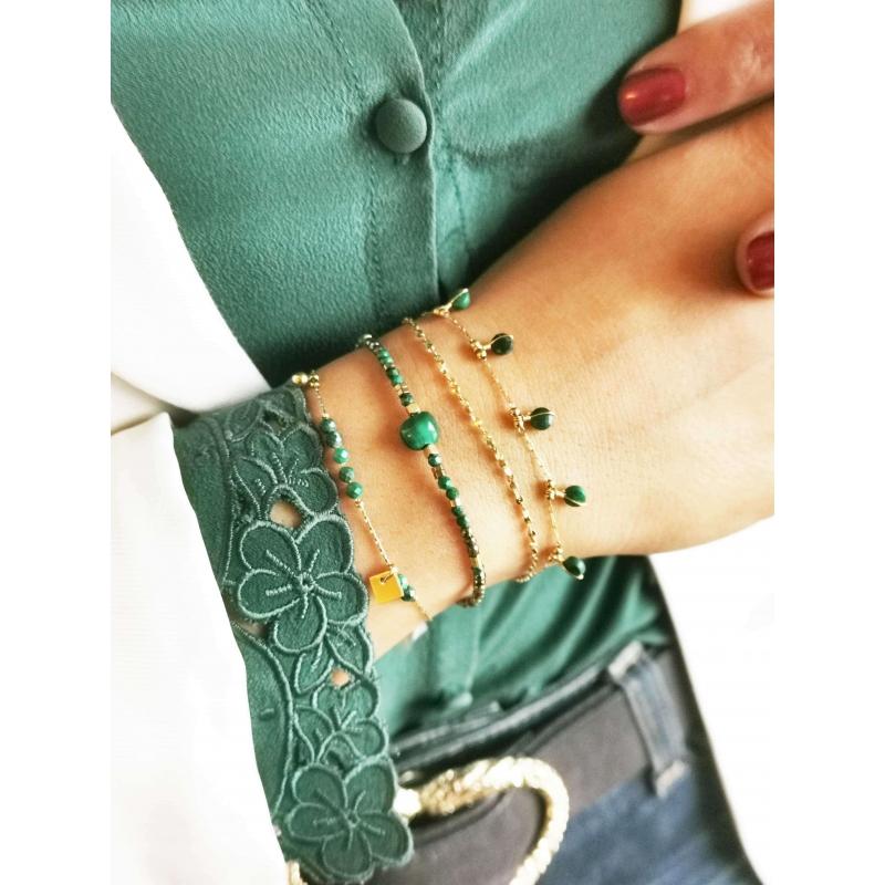Bracelet multi stone rubis...