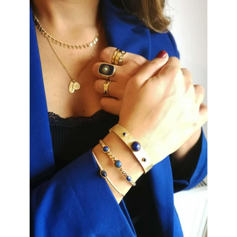 Billy blue gold bangle...