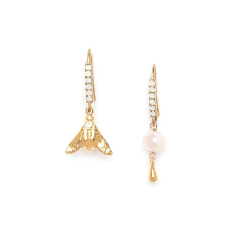 Abelha gold earrings - Franck Herval