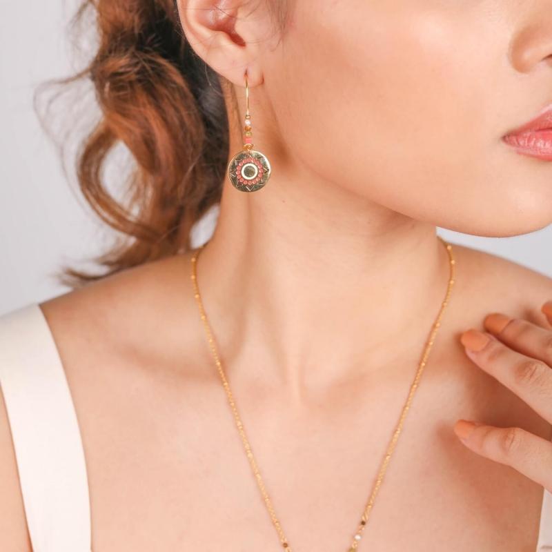 Tamara gold earrings -...