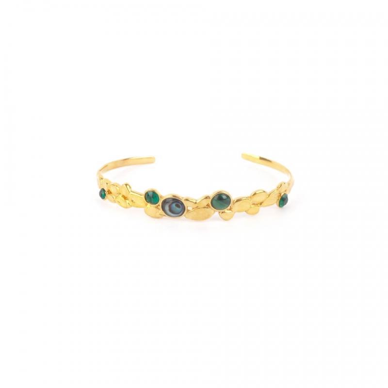 Bracelet jonc Becky Abalone...