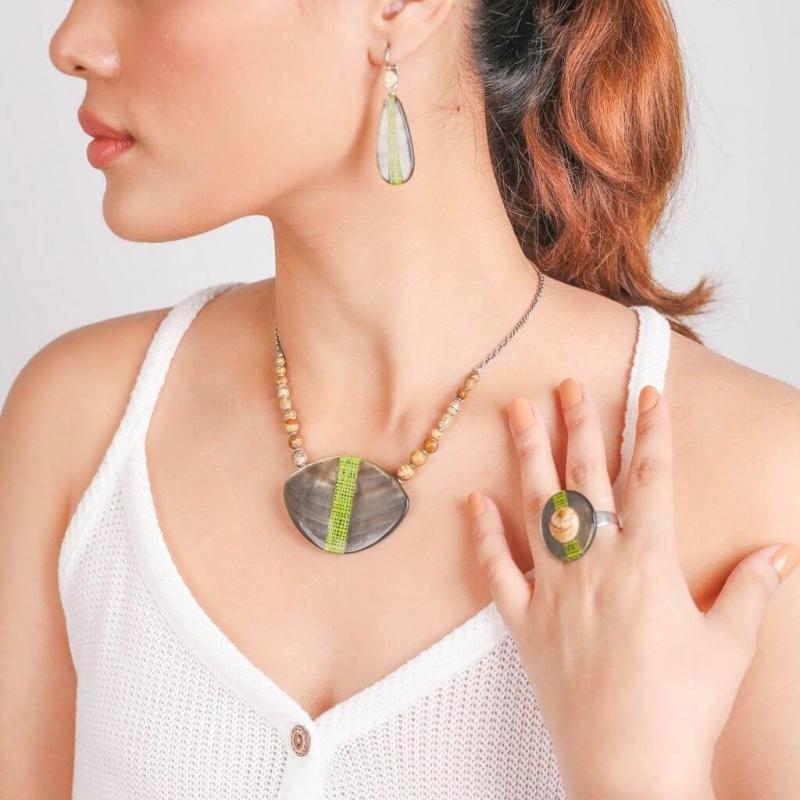 Collier Mambe - Nature bijoux