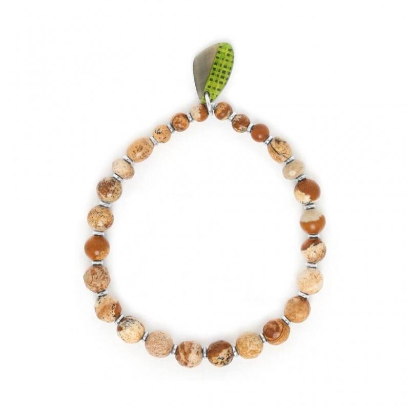 Mambe silver bracelet -...