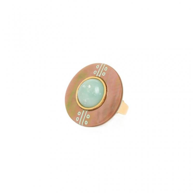 Bague Celadon - Nature bijoux