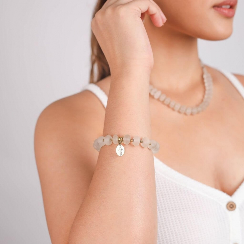 Bracelet ombre et lumière -...