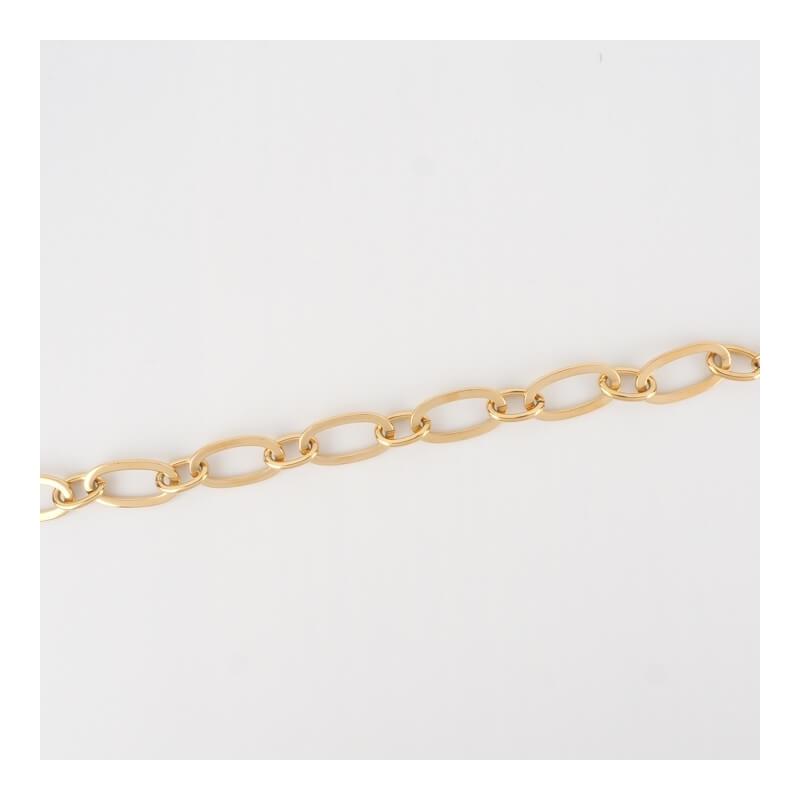 Bracelet Vogue en acier or...