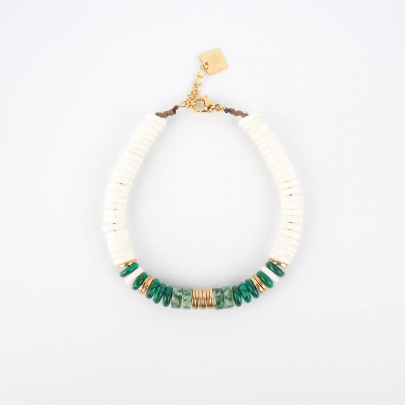 Bracelet Mani en acier or - Zag Bijoux