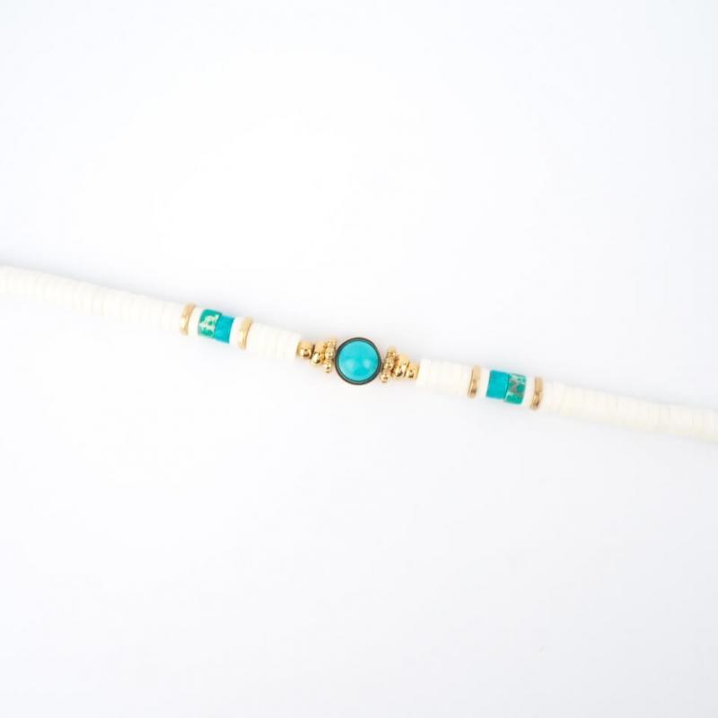 Bracelet Bora en acier or - Zag Bijoux
