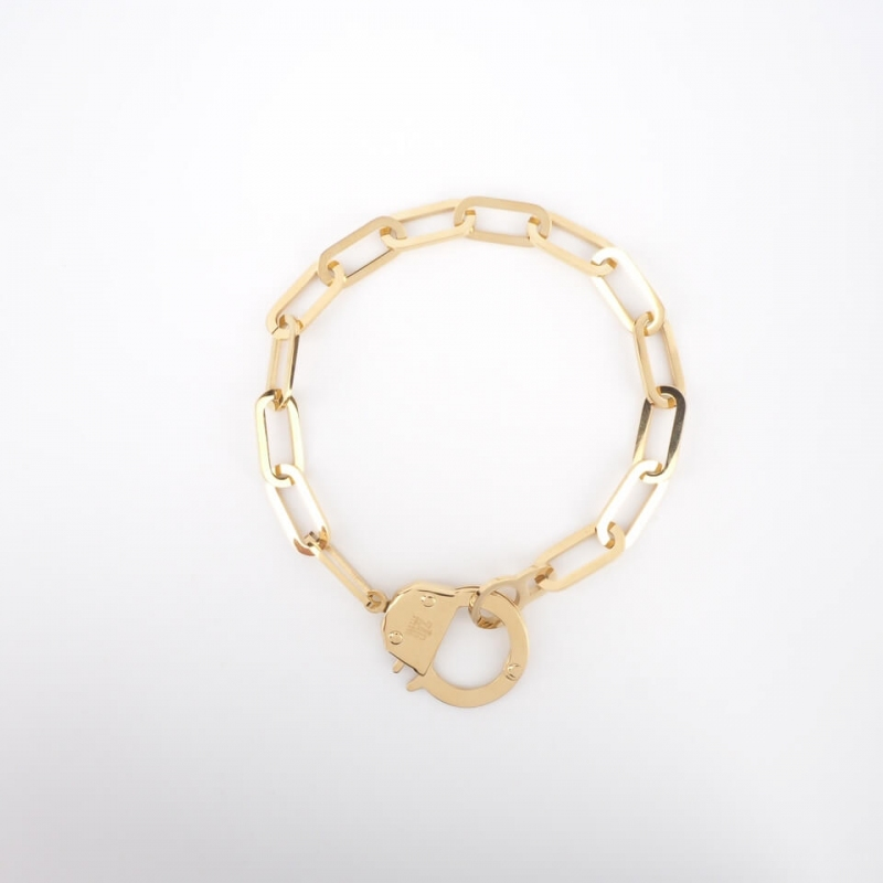Hook gold bracelet - Zag...