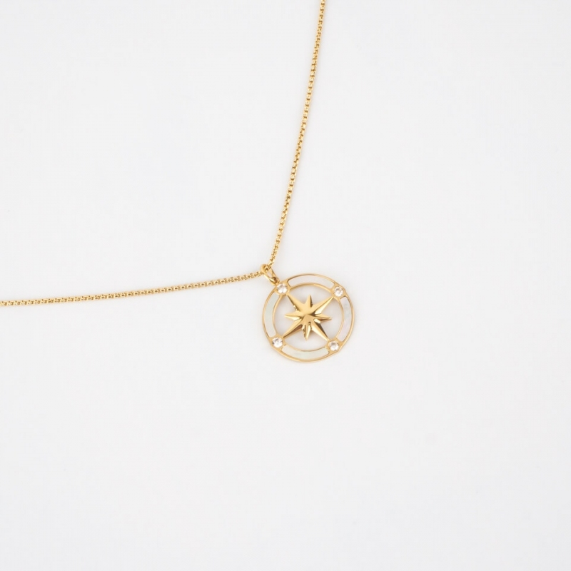 Eclipse gold long necklace...