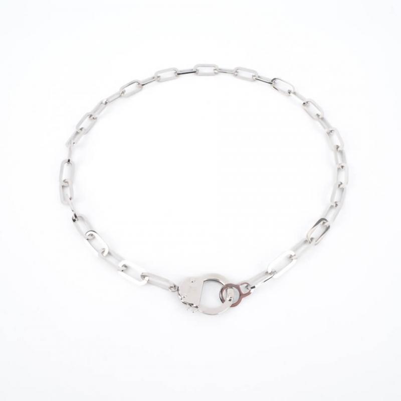 Hook silver necklace - Zag...