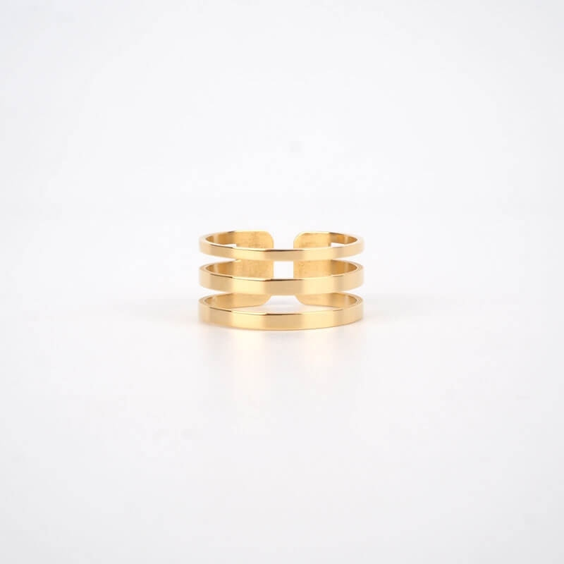 Cox gold ring - Zag Bijoux