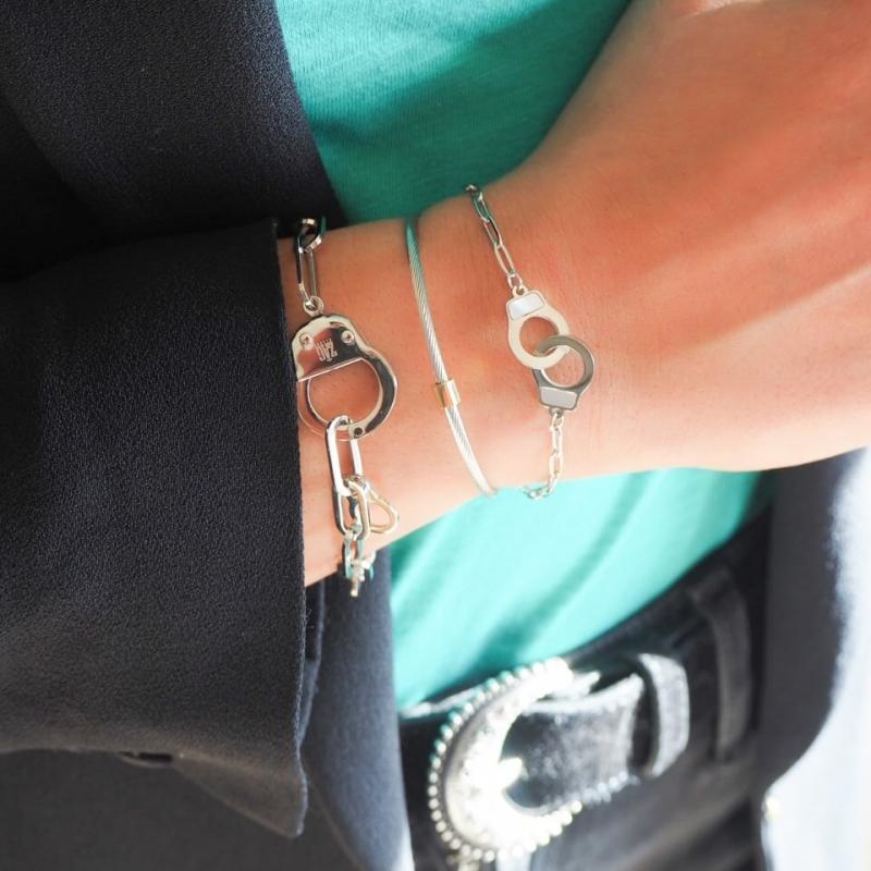 Bracelet Vanessa en acier -...