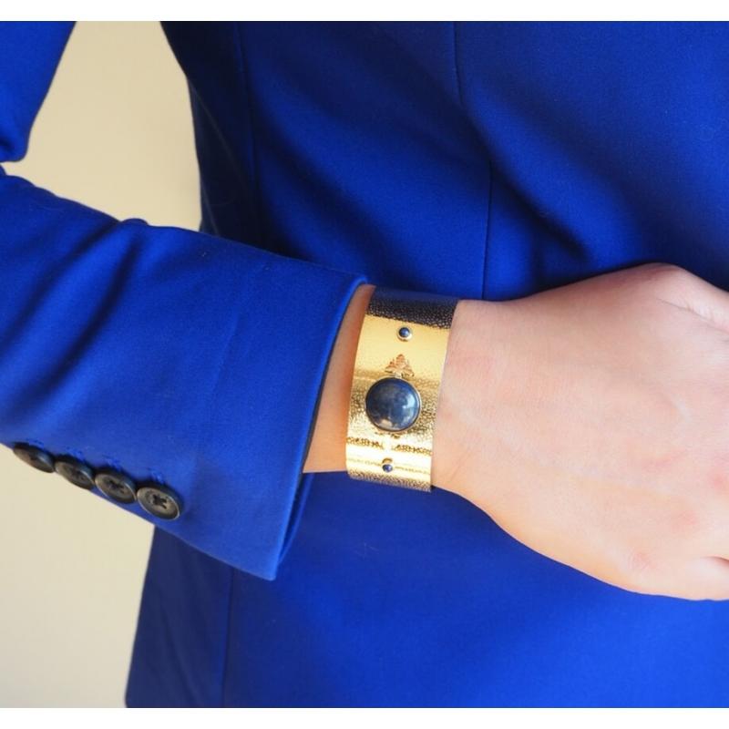 Bracelet manchette Bee...