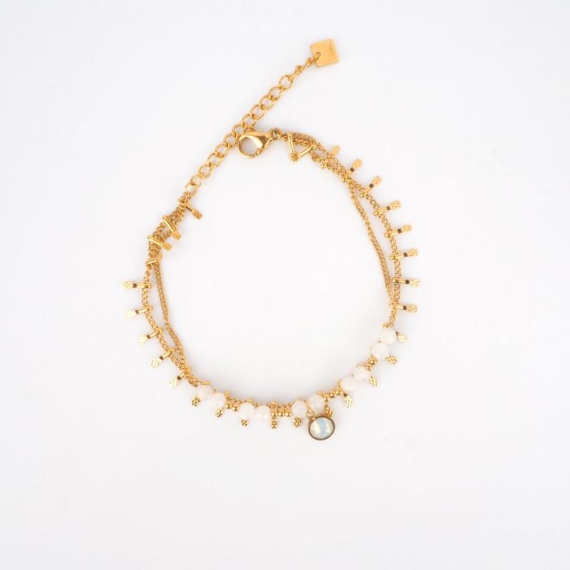 Bracelet Angeli blanc en...