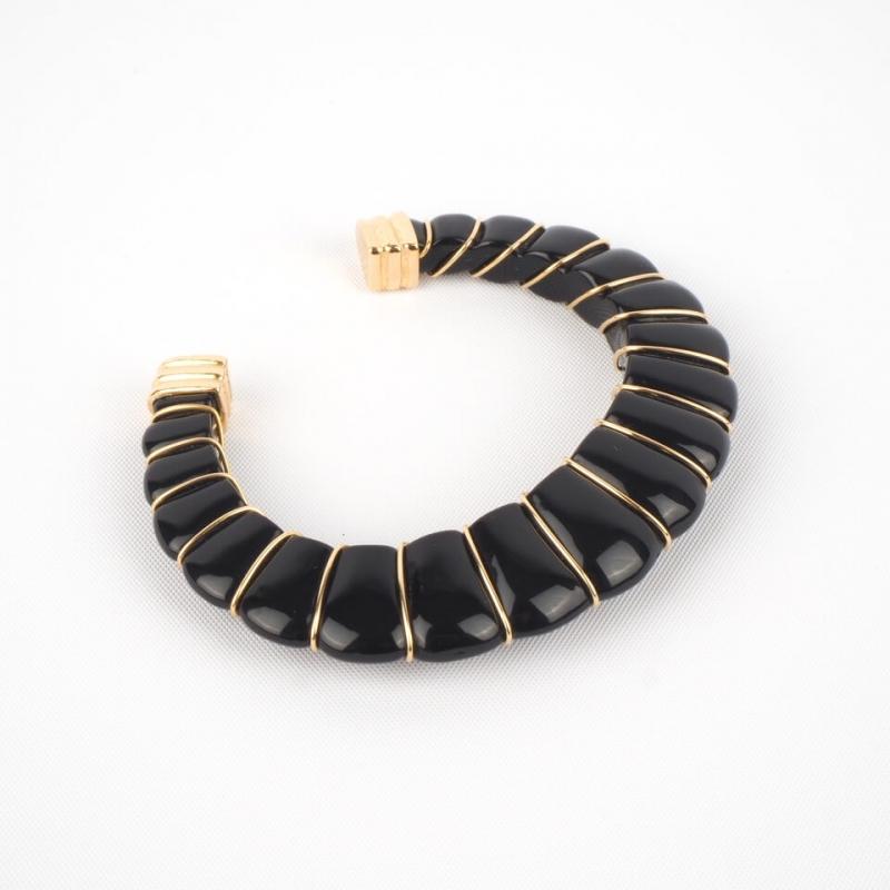 Bracelet jonc Cyclade or -...