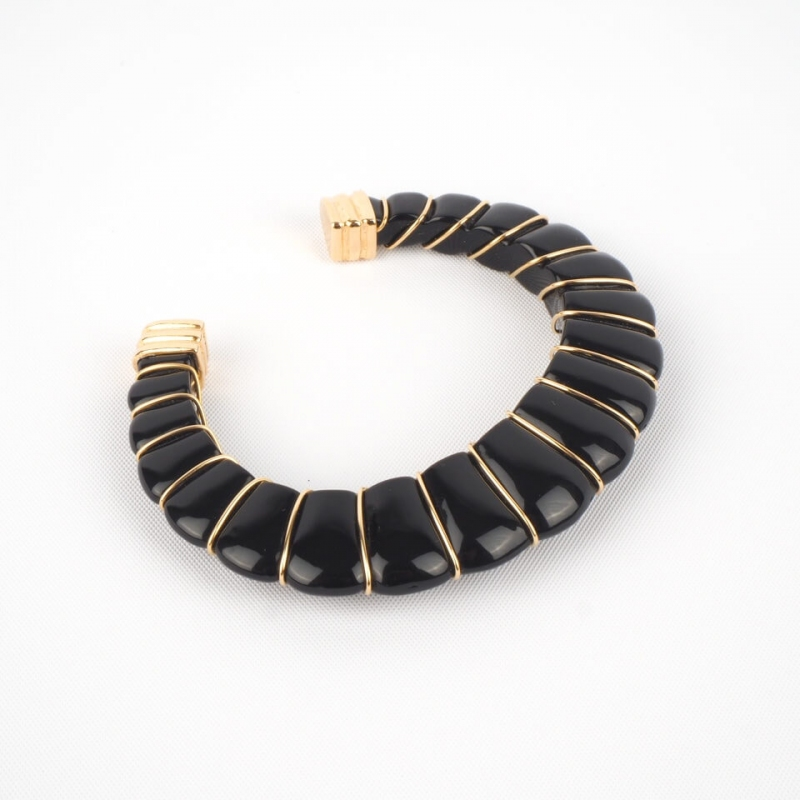 Cyclade black gold bangle...