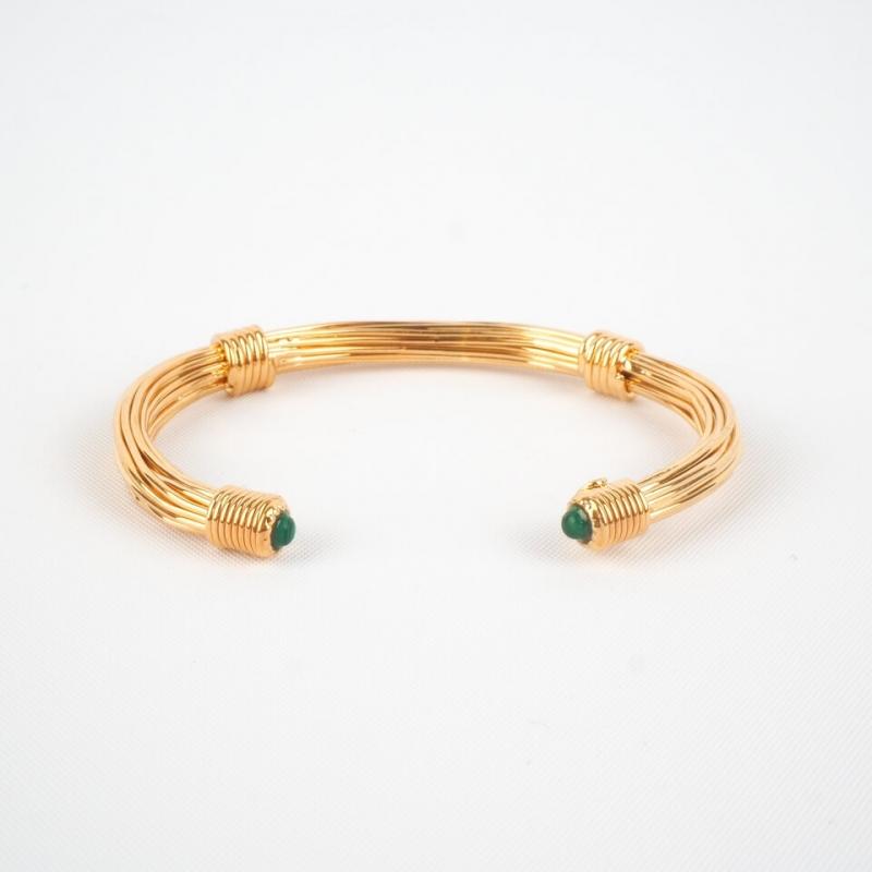 Bracelet jonc Ariane vert...