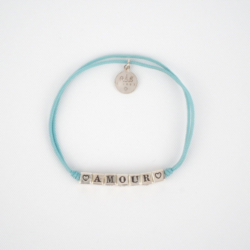 Amour sky silver cord...