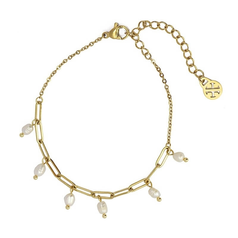 Bracelet Dakota en acier -...