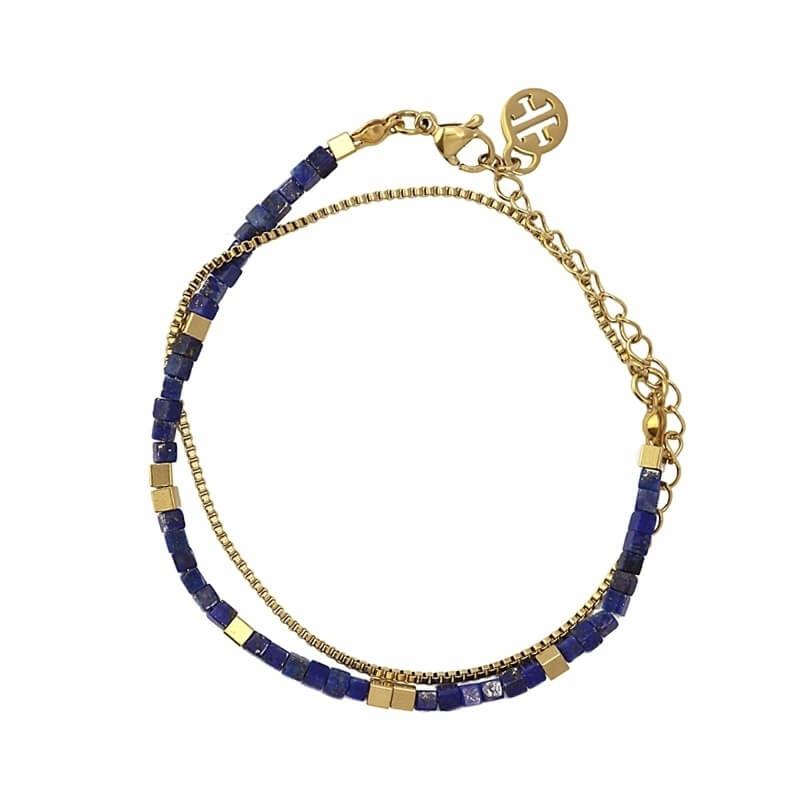 Bracelet Oregon bleu en...