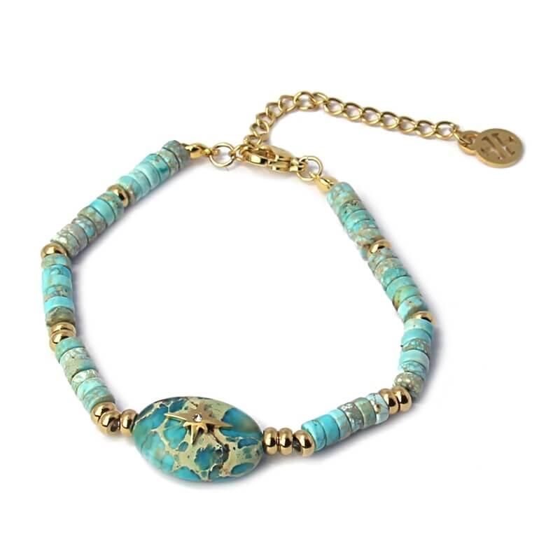 Bracelet Canberra turquoise...