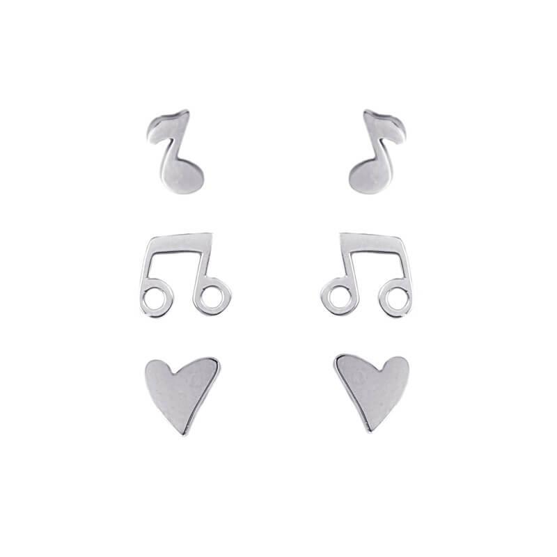 Boucles d'oreilles Trio...