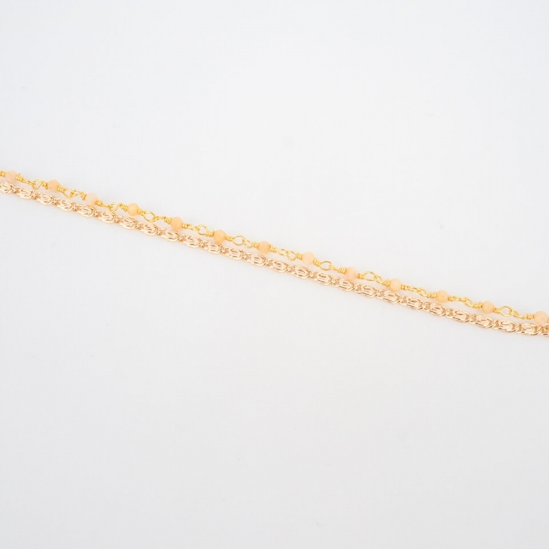 Bracelet Fanette orangé...