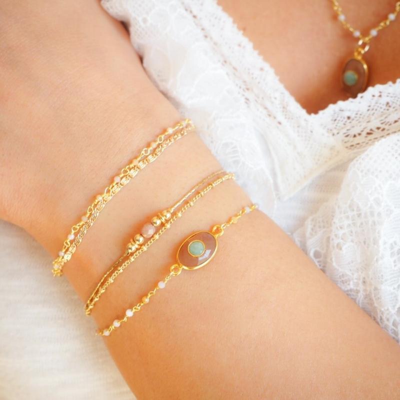 Bracelet Gribouille plaqué...
