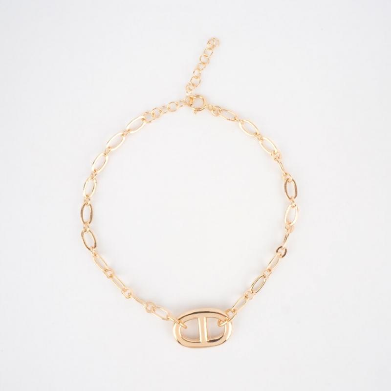 Bracelet Prune plaqué or -...
