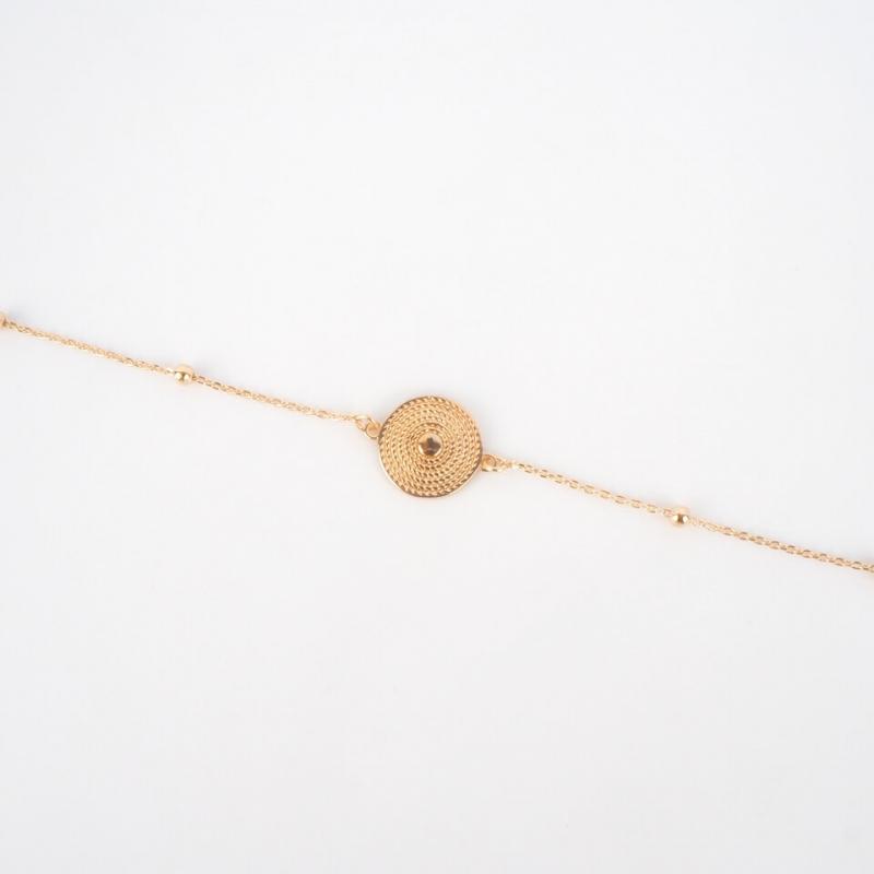 Bracelet Clarisse plaqué or...