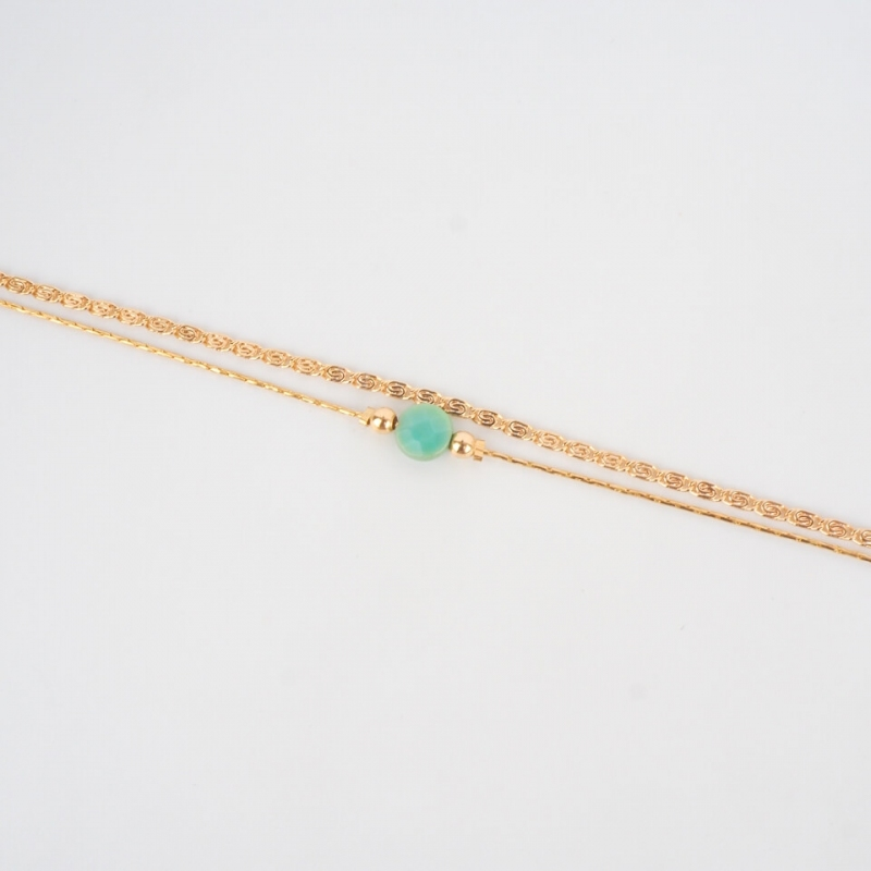 Bracelet Jacynthe plaqué or...