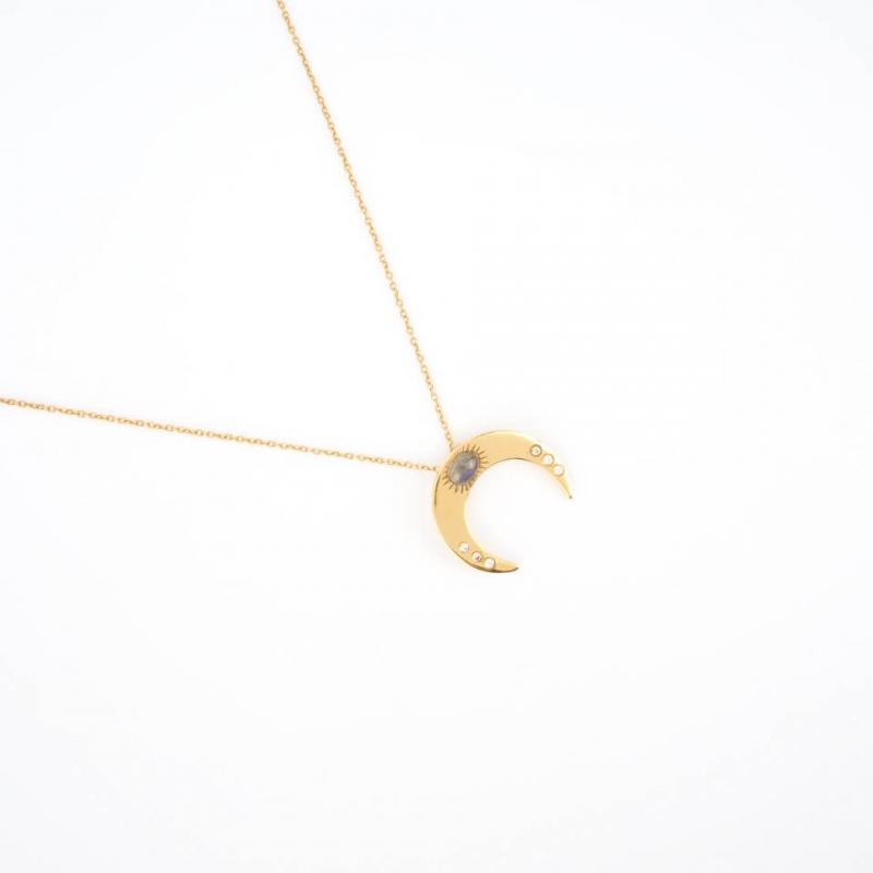 Tara gold necklace - LuckyTeam