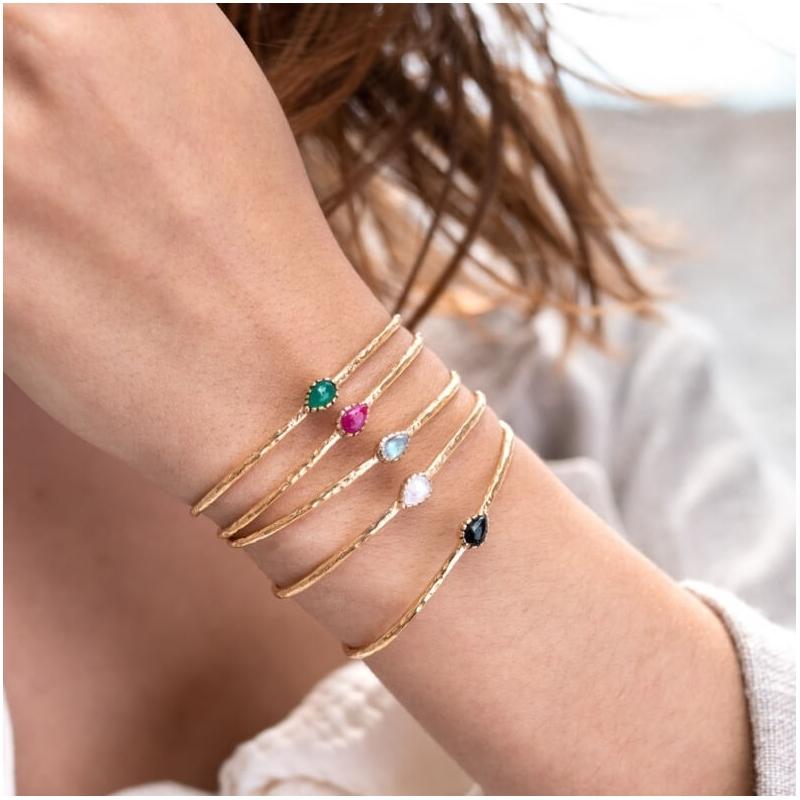 Gina pink gold bangle...