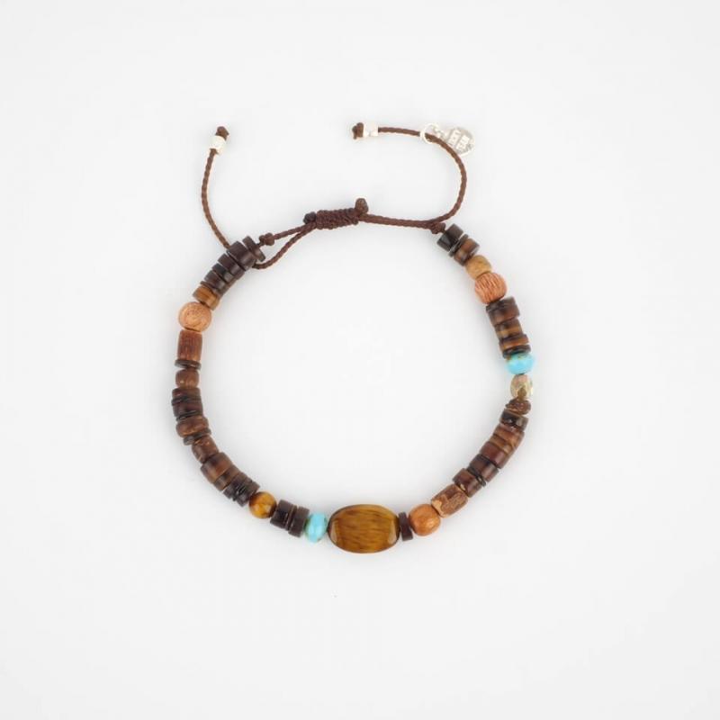 Mateo silver cord bracelet...