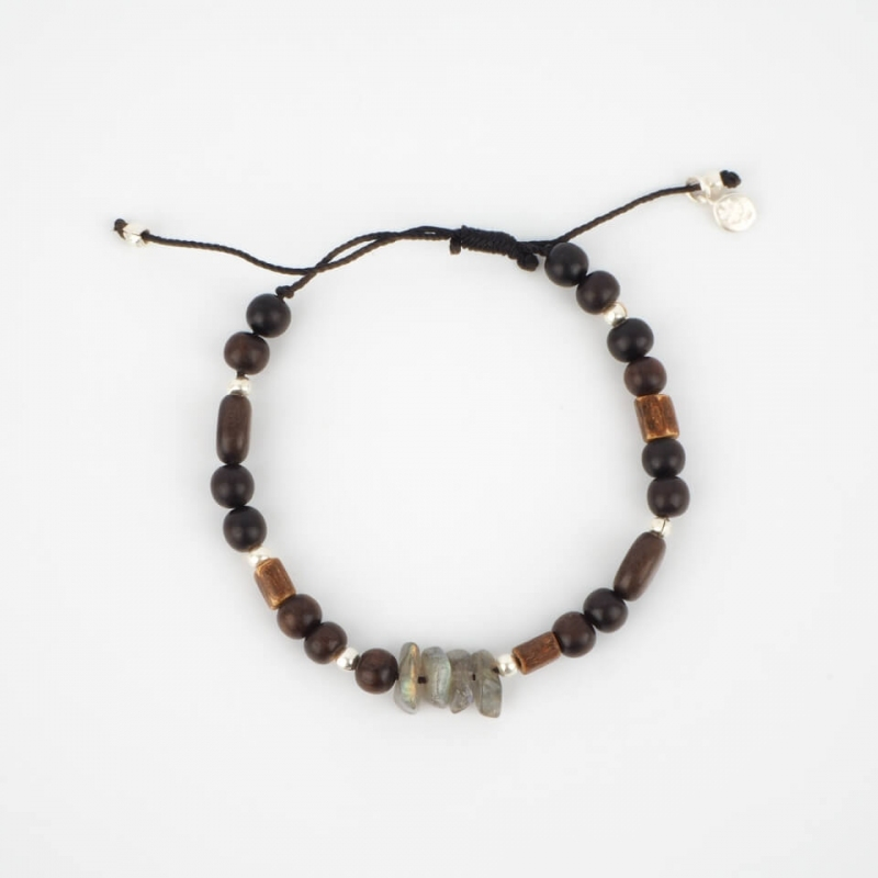 Keivan silver cord bracelet...
