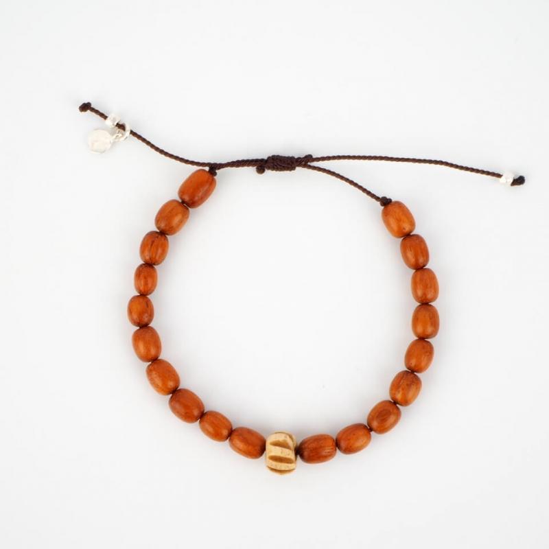 Marco silver cord bracelet...