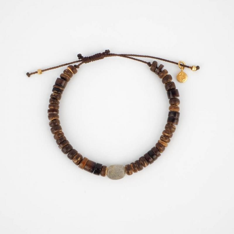 Antonio gold cord bracelet...