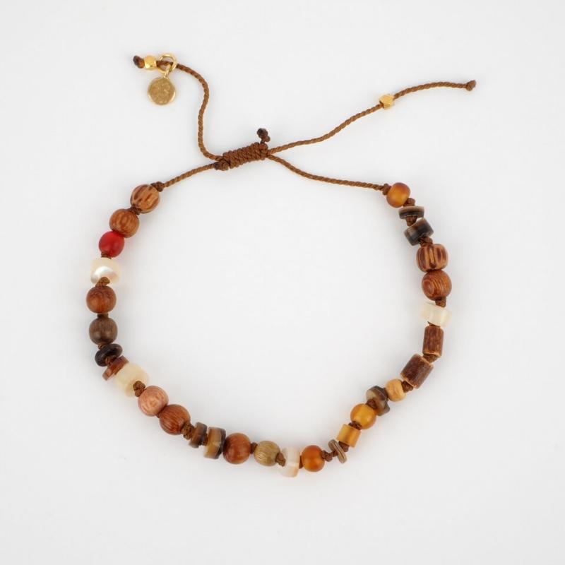 Taylor gold cord bracelet -...