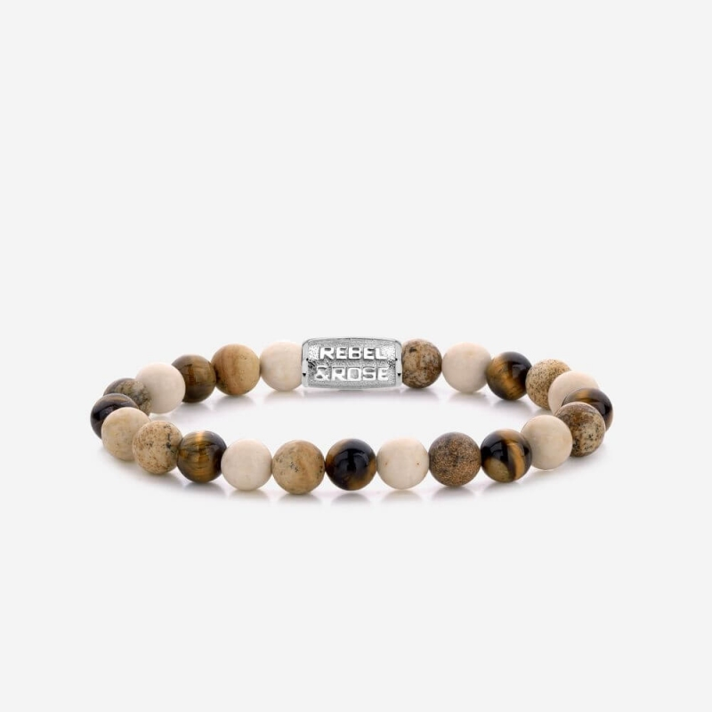 Autumn Love 8mm bracelet -...