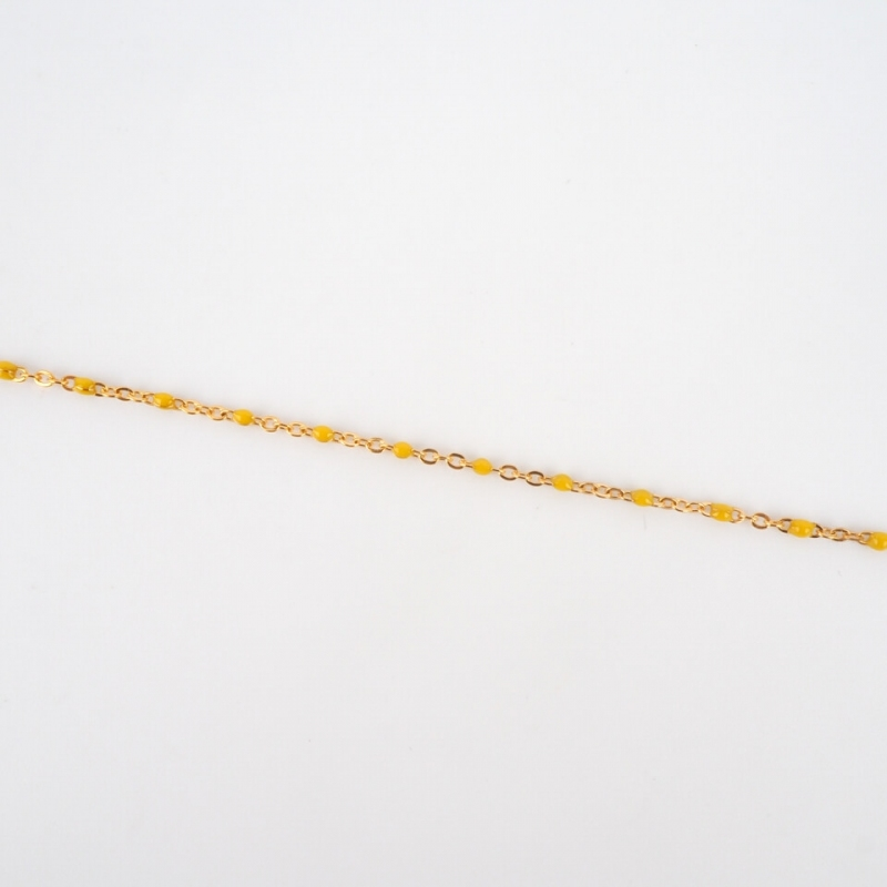 Bracelet Houston jaune en...
