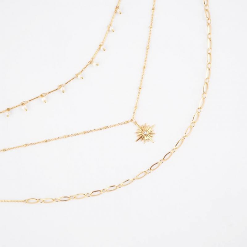 Owen gold necklace - Shyloh...