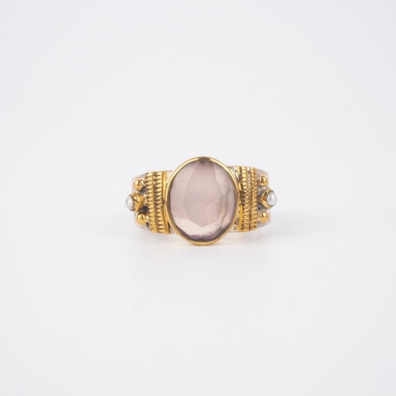 Ethnic chic rose quartz...
