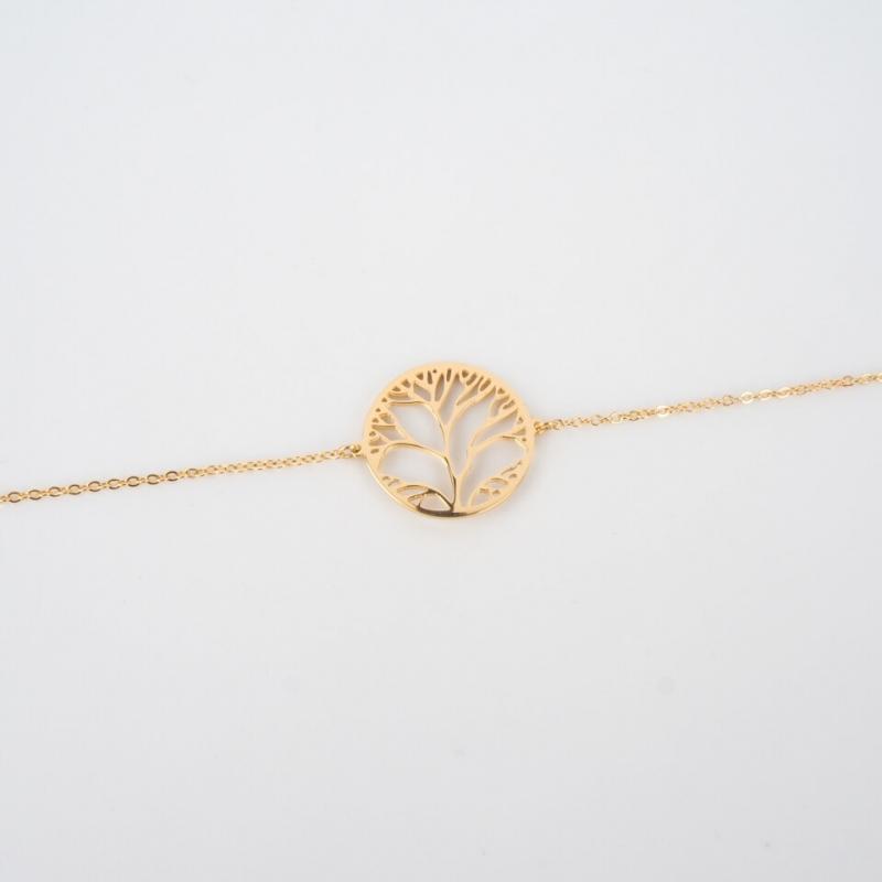 Tree of life gold bracelet - Zag Bijoux