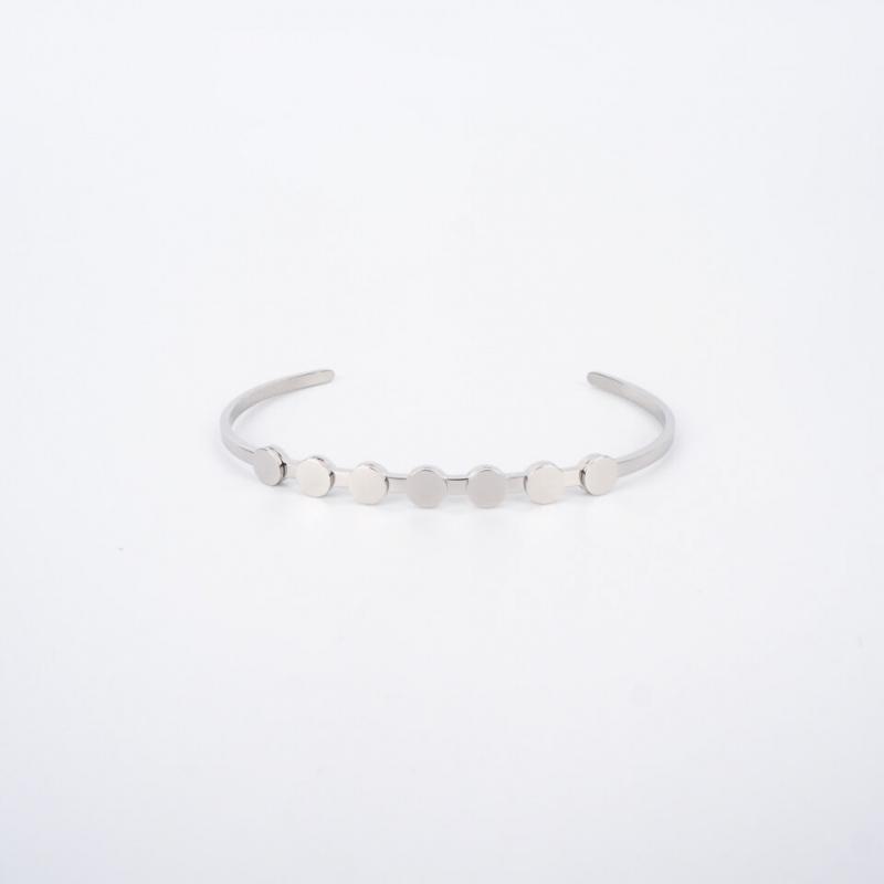 Pastilles silver bangle...